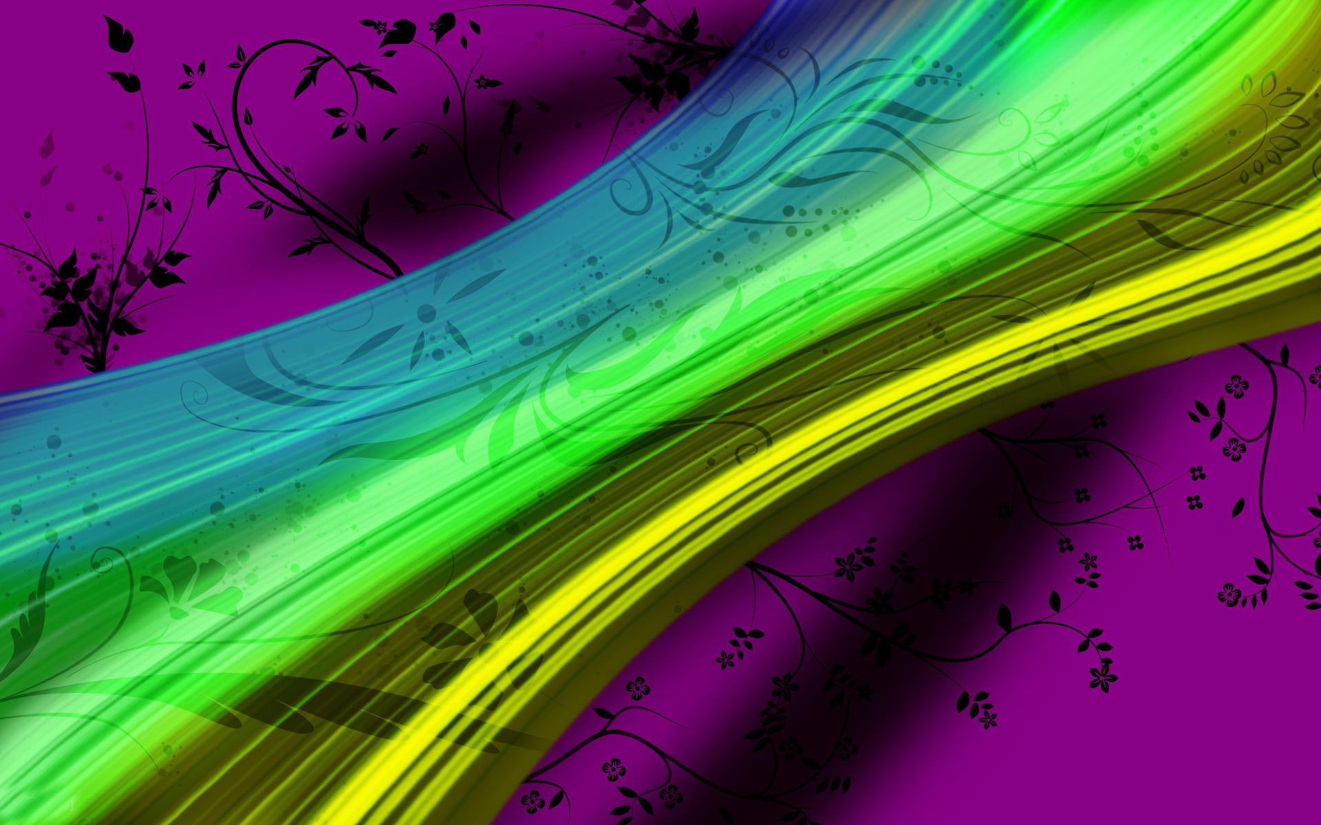 炫彩创意设计壁纸【高清大全图片】 太平洋电脑图片