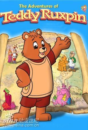 故事的主人公泰迪•华斯比是只可爱的小熊,他最主要的两个伙伴一