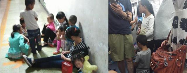 乞丐暑期带娃组团进京乞讨 多来自甘肃